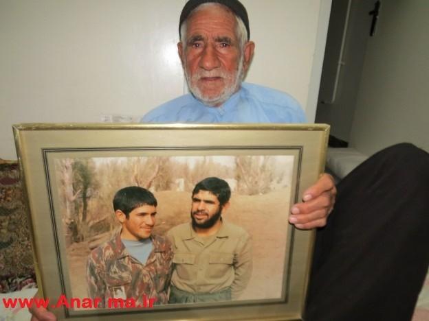 پدر شهید سیدعلی اکبر صابری