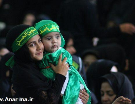 """به گزارش """" انارما""""، در همایش شیرخوارگان حسینی که امروز رأس ساعت ۹ صبح در امامزاده ..."""